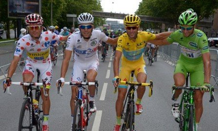 Bạn có biết ý nghĩa màu áo vàng áo xanh trong đua xe đạp Tour De France